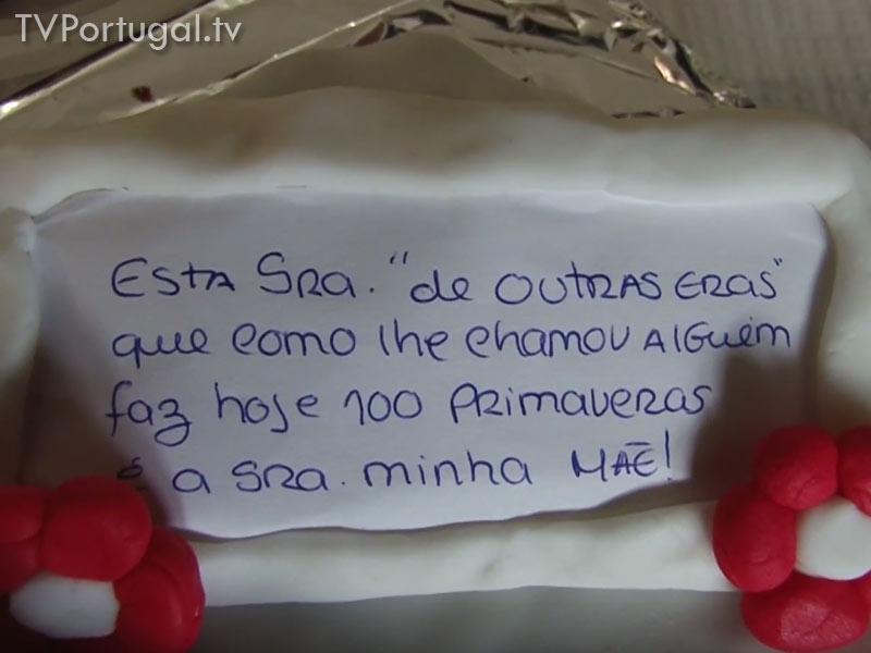 100.º Aniversário de Emília Fragoso, Fernando Teixeira Lopes, Junta de Freguesia Cascais Estoril, Pedro Morais Soares, Cascais Televisão Portugal