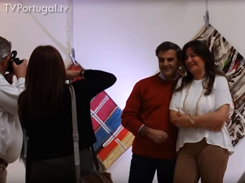 Código 2, Galeria de Arte do Estoril, Janica Nunes, Tim Madeira, Ricardo Amoedo, Pedro Morais Soares, Presidente da Junta de Freguesia Cascais Estoril