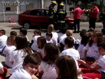 Voluntariado Jovem, Bombeiros de Cascais, PSP de Cascais, João Loureiro, Comandante dos Bombeiros Voluntários de Cascais, Junta de Freguesia Cascais