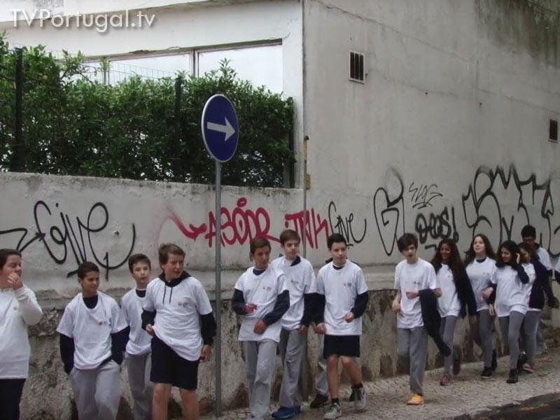 Limpeza e Remoção de Graffitis, Voluntariado Jovem, Pedro Morais Soares, Presidente da Junta de Freguesia Cascais Estoril, Cascais Televisão Portugal
