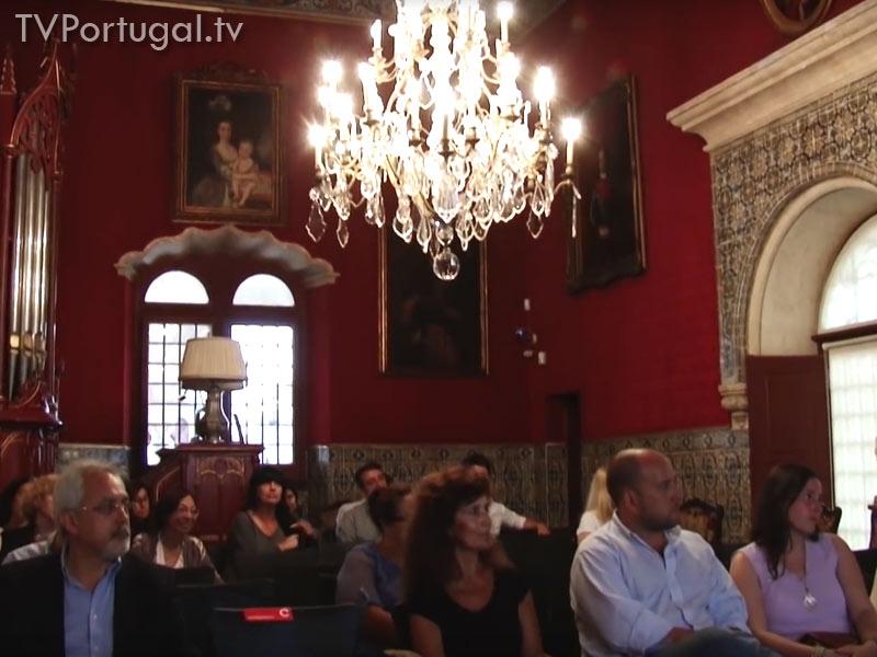 Entrega do Prémio Ferreira de Andrade em Cascais, Museu Condes Castro Guimarães, Carlos Carreiras, Presidente da Câmara Municipal de Cascais