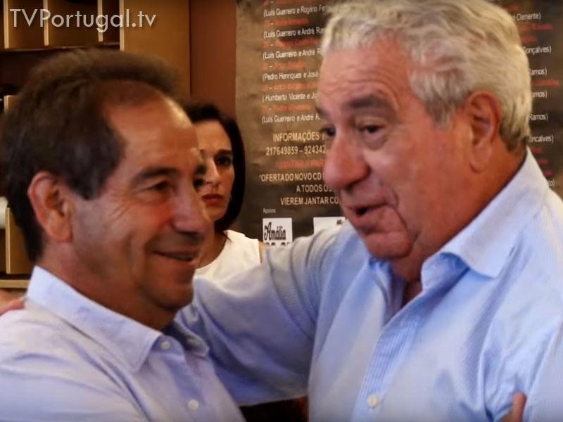 Fernando Correia, decano do jornalismo Português, 80 Anos, Festa de Aniversário Surpresa, Restaurante Dom Leitão, Cascais, Televisão Portuguesa, Portugal