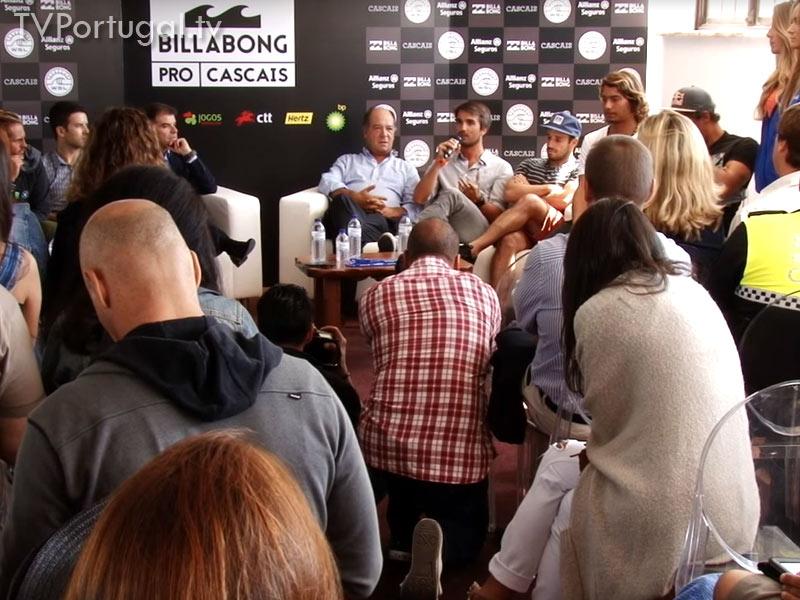 Surf Cascais, Apresentação, Allianz Billabong Pro Cascais, Carlos Carreiras, Presidente da Câmara Municipal de Cascais, Cascais Televisão Portugal