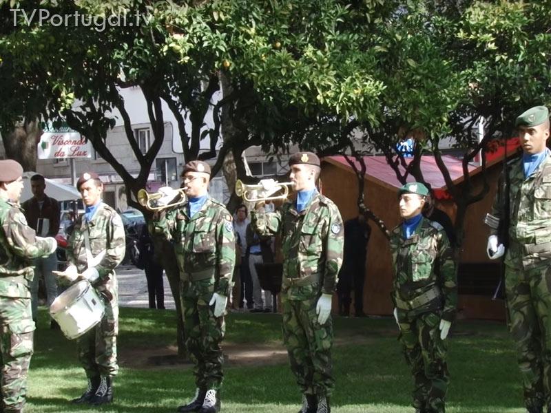 97.º Aniversário do Armistício, Cascais 2015, Jardim Visconde da Luz, Carlos Carreiras, Homenagem aos ex combatentes, Cascais Televisão Portugal