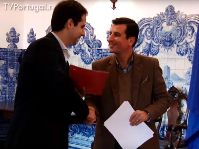 Empreendedorismo Escolar, Nuno Piteira Lopes, Assinatura de Protocolos, Câmara Municipal de Cascais, Televisão Cascais Portugal, Reportagem, Lisboa