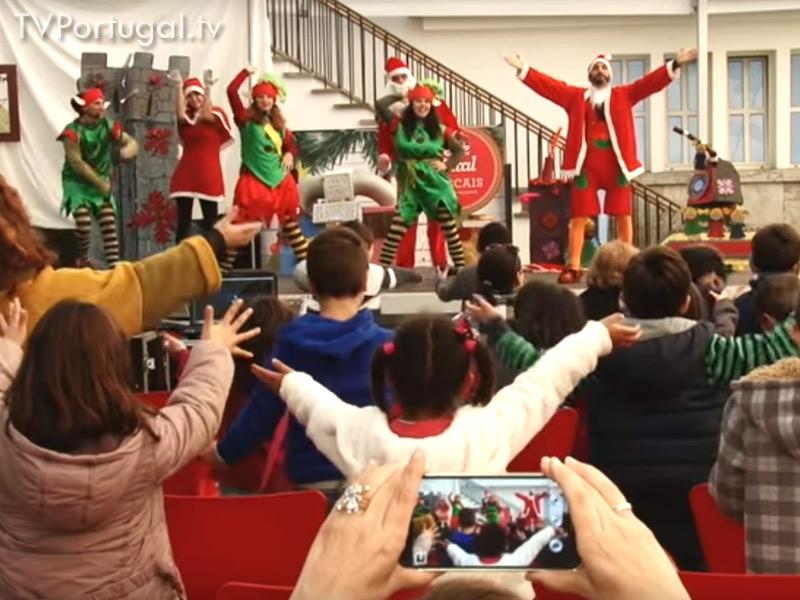 Festa de Natal, Junta de Freguesia Cascais Estoril, Mercado da Vila, Pedro Morais Sores, Televisão Cascais, Reportagem, Televisões Regionais, Televisao