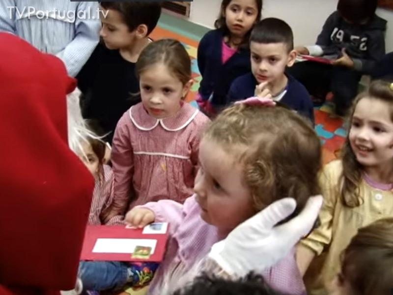 Pai Natal nas Escolas, Junta de Freguesia Cascais Estoril, Pedro Morais Soares, Escolas de Cascais, Jardins de Infância, Televisão Cascais, WEBTV