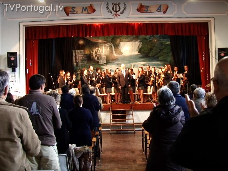 97.º Aniversário, Sociedade Musical Sportiva Alvidense, Luís Portela; Carlos Carreiras, Municipio de Cascais, Filarmónicas, Colectividades, Cultura, Banda