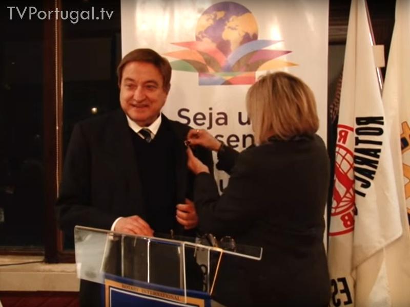 Carlos Avilez Rotary Clube Cascais - Estoril, Teatro, Artistas, Cultura, Rotarios, Arte, Artistas, Reportagem TV Portugal, Televisão regional, Lisboa