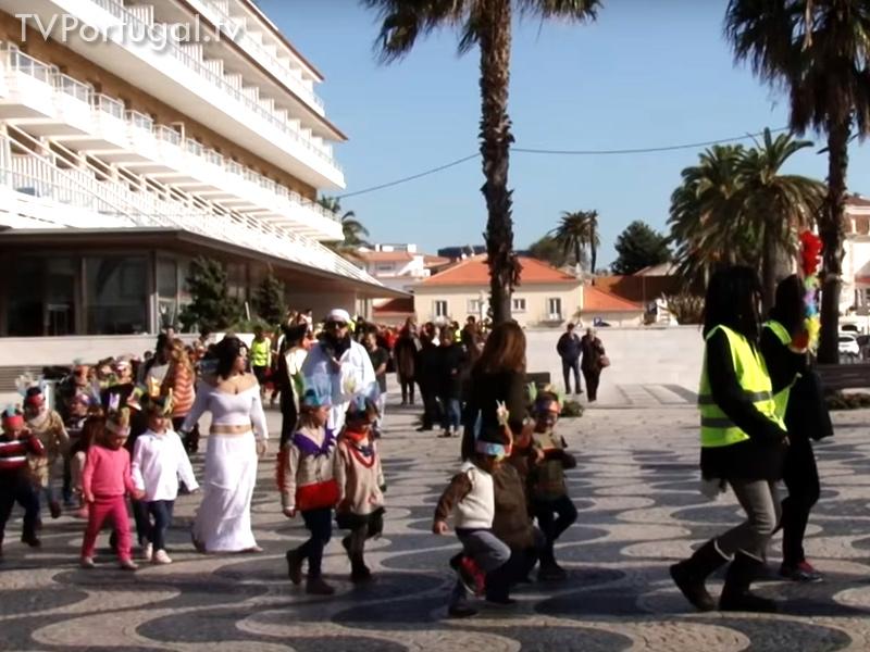 Desfile de Carnaval, Alunos da Escola EB1 José Jorge Letria, Cascais, Lisboa, escolas, Carnaval, Região, Televisões regionais, Região de Lisboa