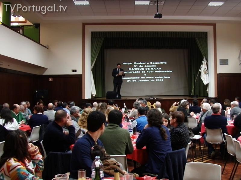 103.º Aniversário do GMD 31 de Janeiro, Inauguração de Cobertura, Nuno Piteira Lopes, Manique de Baixo, Cascais, TV Web, Televisão Regional, Zona de Lisboa