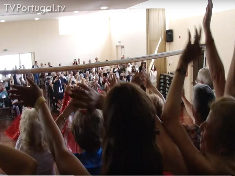Geração Activa, Sarau de Ginástica, Junta de Freguesia de Cascais, Televisão Cascais, Reportagem, Centros de Dia de Cascais, Televisão Lisboa, Zona