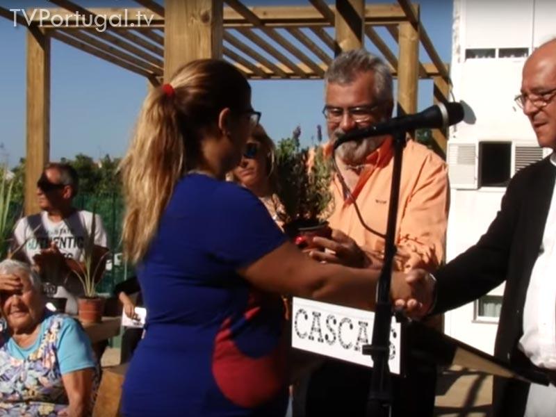 Inauguração Horta Comunitária, Bairro Irene, Alvide Cascais, Nuno Piteira Lopes, Vereador de Cascais, entrevista, Televisão regional, Região, Lisboa