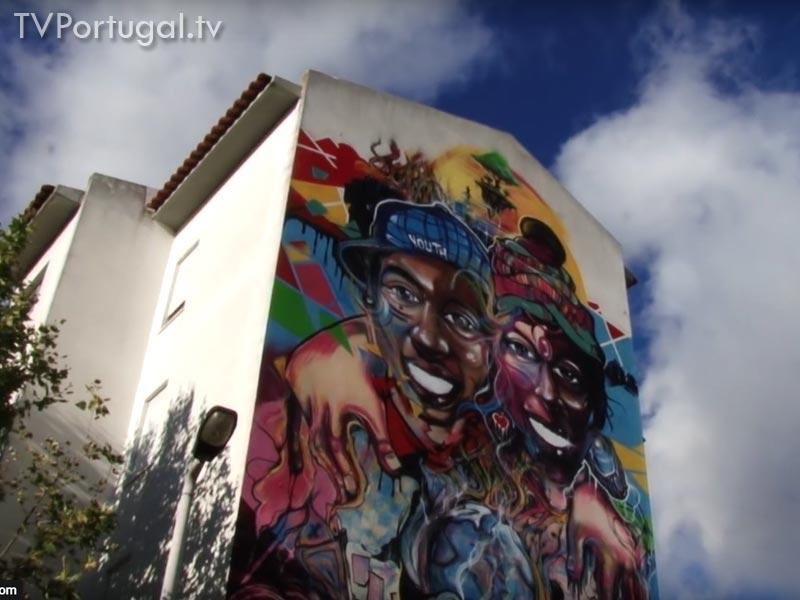 Grafities no Bairro da Torre, Visita, Somos Torre, Grafities, Bairro da Torre, Cascais