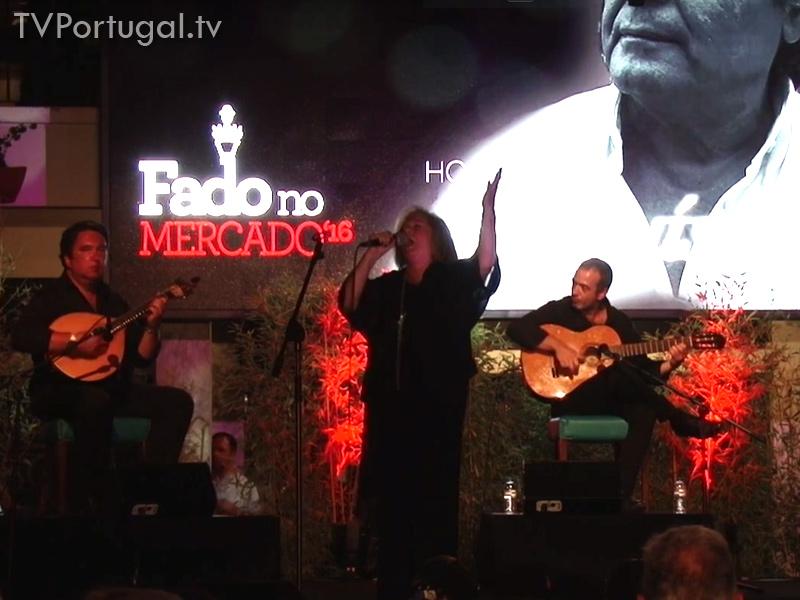 Maria da Fé canta 64.º Aniversário Mercado da Vila em Cascais, Fadista, Homenagem a José Luis Gordo, Até Que a Voz Me Doa, Fados, Televisão Regional, Lisboa
