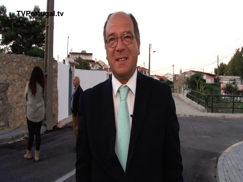 Rua de Campos Velhos, Bicesse, Obras de Requalificação, Carlos Carreiras, Presidente de Câmara, Televisão Cascais Portugal, Televisões Regionais, Lisboa