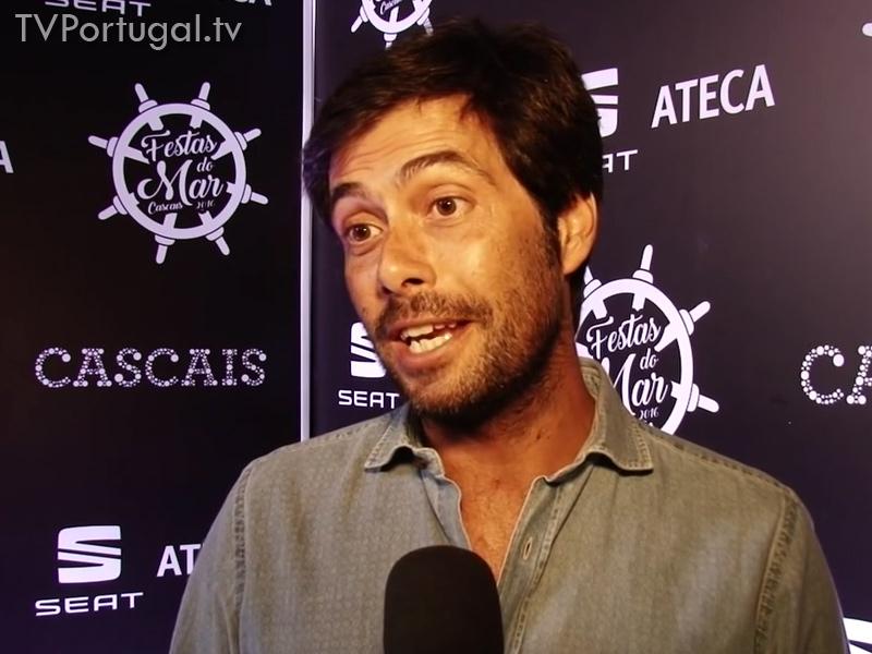 Pedro Morais Soares nas Festas do Mar 2016, entrevista, Presidente da Junta de Cascais, Estoril, Festas de Cascais, Televisão zona Lisboa, Regional, TV