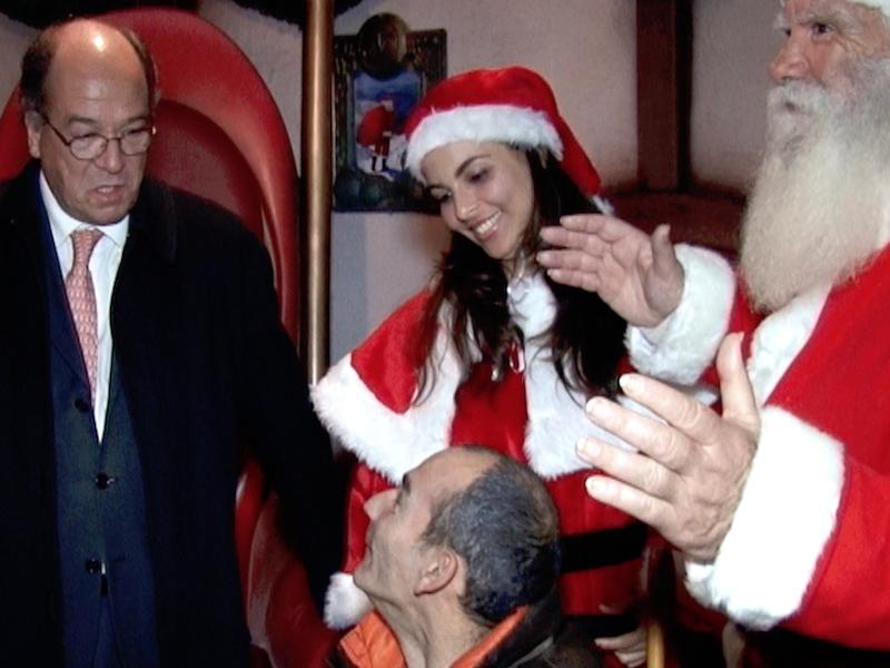 Inauguração da Vila de Natal, Cascais Christmas Village, Natal Cristão, Natal Pagão, Carlos Carreiras, Presidente da C. M. de Cascais, Cascais Televisão