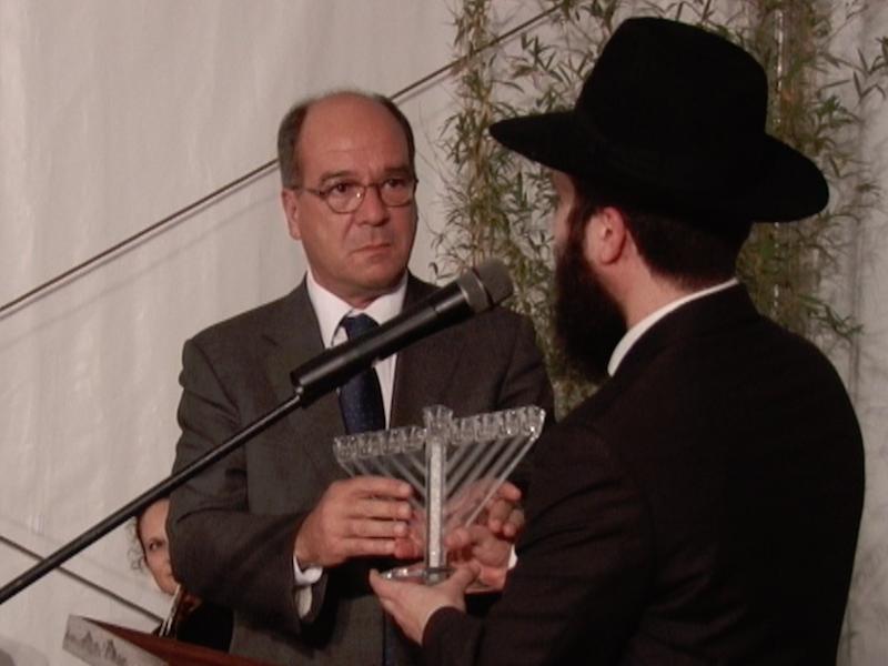 Celebração do Chanukah 2016, Festival das Luzes, Baía de Cascais, Rabino Eli Rosenfeld, Embaixadora de Israel, Carlos Carreiras, Cascais Televisão Portugal