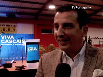 Nuno Piteira Lopes, Director de Campanha da Coligação VIVA Cascais, Fernando Ferreira Marques, Recreativo dos Vinhais, Cascais, Televisão, Portugal