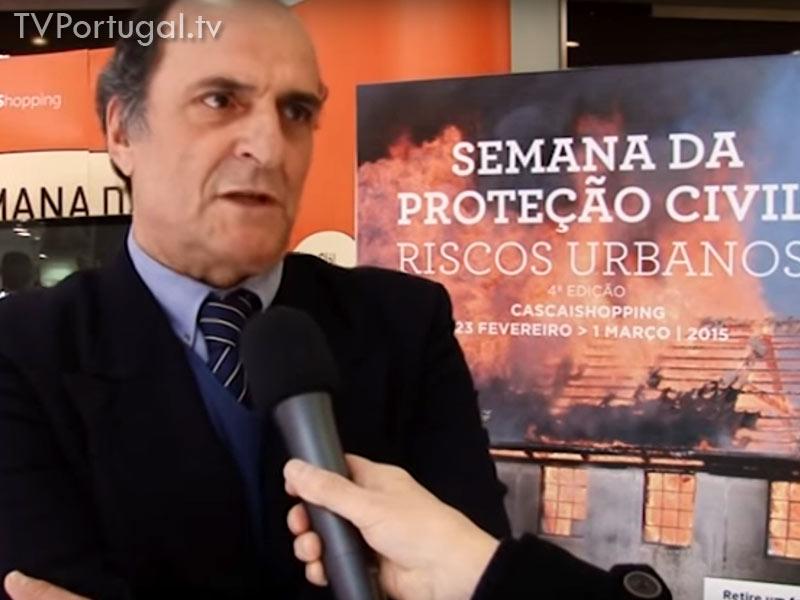 Semana da Proteção Civil, Riscos Urbanos, 4.ª Edição, Pedro Lopes de Mendonça, 4.ª Edição da Semana da Protecção Civil, CascaiShoping, Cascais, Portugal