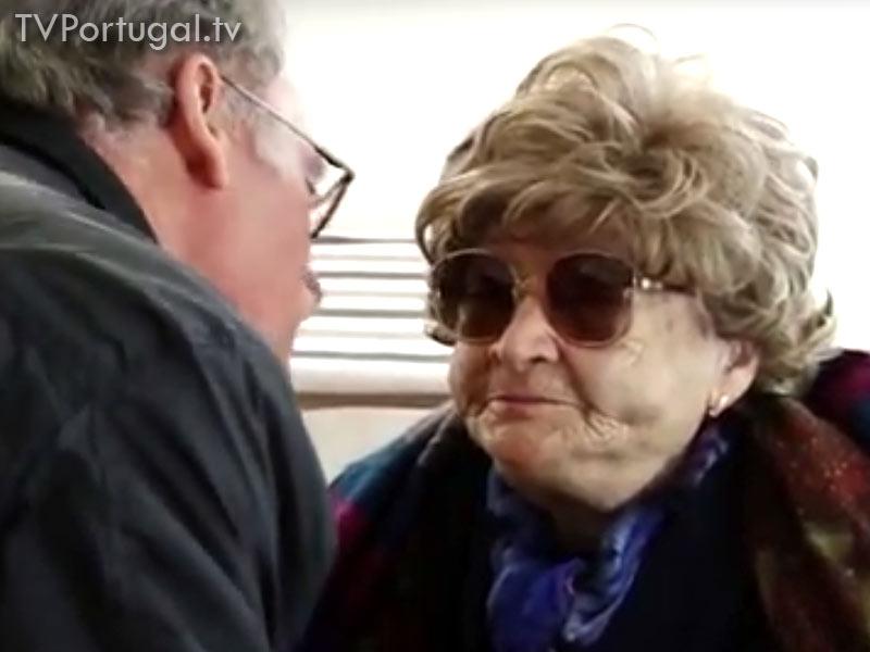 100.º Aniversário de Emília Fragoso, Assilda Fragoso, Filha de 81 anos, Pedro Morais Soares, Carlos Carreiras, Cascais Televisão Portugal