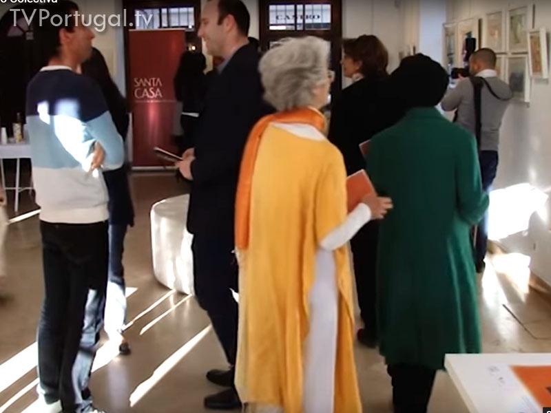 Traços de Descoberta, Exposição Colectiva, Inauguração, Pedro Morais Soares, Presidente da Junta de Freguesia Cascais Estoril, Cascais Televisão Portugal