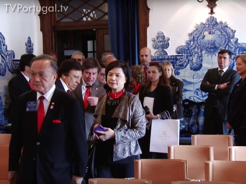 Homenagem do Rotary Cascais Estoril, 650 Anos da Vila de Cascais, Gary Huang, Presidente do RI, Carlos Carreiras, Cascais Televisão Cascais, Portugal