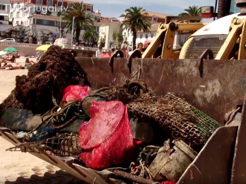 Clean Up the Atlantic, Vila de Cascais, Limpar os Oceanos, Miguel Pinto Luz, Vice Presidente da Câmara de Cascais, Cascais Televisão Portugal