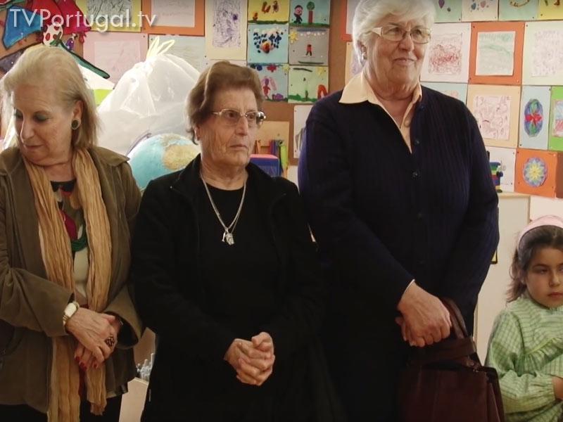 Voluntariado Jovem, Visita de Seniores, Escola Raul Lino, Junta de Freguesia Cascais Estoril, Cascais Televisão Portugal, Web tv, Portugal