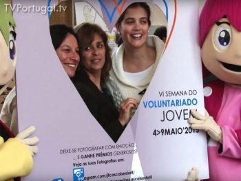 Início da Semana do Voluntariado Jovem, VI Edição, Centros de Convívio de Cascais Estoril, Pedro Morais Soares, Presidente da Junta de Freguesia Estoril