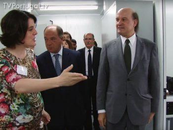 Extensão da Unidade de Saúde Familiar de Carcavelos, Inauguração, Zilda Costa Silva, Presidente da União das Freguesias de Carcavelos e Parede