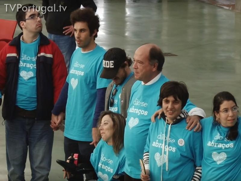 Dia Internacional da pessoa com deficiência, Cascais 2015, Carlos Carreiras, Presidente de Cascais, Televisão, Cascais, Portugal, Reportagem, Lisboa