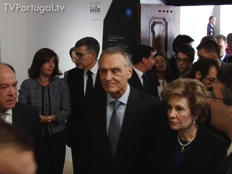 Carlos Carreiras, Cascais, Presidente, Aníbal Cavaco Silva, Presidente Republica, Cascais, 2016, Presidente, Cidadão Honorário, Município de Cascais