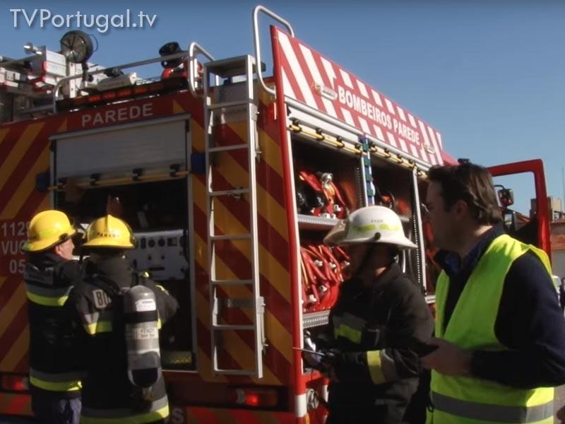 Simulacro no Hospital Ortopédico de Sant`Ana, Simulação, Bombeiros de Parede, Bombeiros Voluntários, Hospital, Televisão regional, Região, Lisboa, WebTV