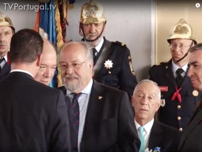 Presidente da Republica, Marcelo Rebelo de Sousa, Aniversário Bombeiros de Cascais, 130 anos, Televisão de Cascais, Reportagem, Televisão Regional