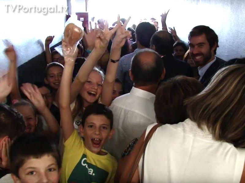 Presidência Aberta, Visita a Escolas do Concelho, Cascais 2016, Carlos Carreiras