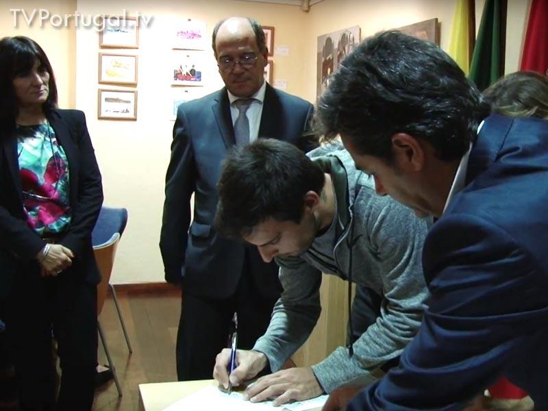 Bolsas Sociais, Assinatura do Protocolo, JF Carcavelos Parede, JF S.D. Rana