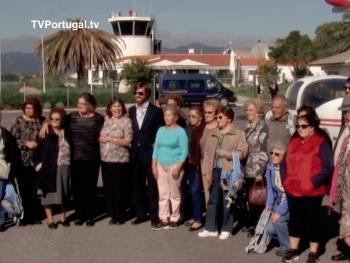 50 Seniores de Cascais, Batismo de Vôo, aeródromo de Tires, Projecto Lado a Lado, Frederico Pinho de Almeida, Cascais Televisão Portugal