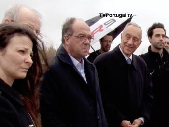 Homenagem ao Comandante Jorge Albuquerque, Nova Variante em Manique, Jorge Albuquerque, Carlos Carreiras, Cascais Televisão Portugal