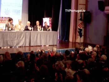 Lançado o Livro Teatros de Cascais com o Apoio J.F. Cascais Estoril, Manuel Eugénio, José Fialho, Pedro Morais Soares, Carlos Carreiras, Cascais, Televisão