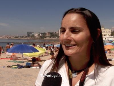 Celebração do Dia Internacional da Juventude, Praia do Tamariz, Cascais, Catarina Marques Vieira, Televisão, Portugal, Capital Europeia da Juventude 2018