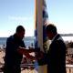 Hastear Oficial da Bandeira Qualidade de Ouro Atribuída Pela Quercus, João Branco, Carlos Carreiras, Televisão, Cascais, Portugal