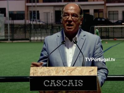 Inauguração dos Relvados Sintéticos e Iluminação no Campo de Jogos do Tires, Carlos Carreiras, Televisão, Cascais, Portugal