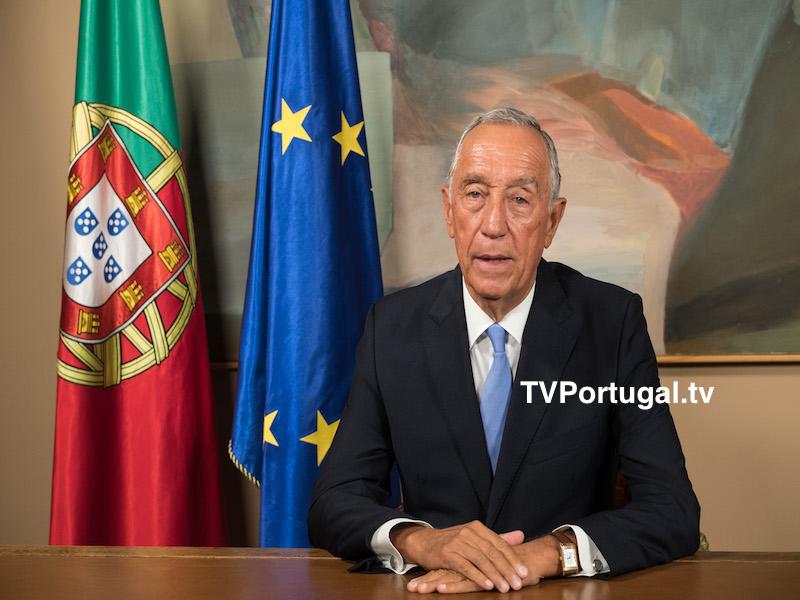 Mensagem do Presidente da República, Eleições Autárquicas, Marcelo Rebelo de Sousa, Cascais, Televisão, Portugal, Facebook