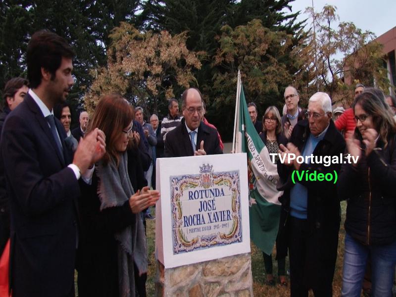 Inauguração da Rotunda, Mestre José Xavier, Junta de Freguesia Cascais - Estoril, Pedro Morais Soares, Cascais, Portugal, Televisão