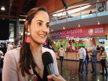 Catarina Marques Vieira, Comissária - Cascais Capital Europeia da Juventude 2018, Centro de Congressos do Estoril, Carlos Carreiras, Cascais, Portugal, Televisão