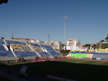 2.ª Parte Estoril Praia x FC Porto, Presença de Carlos Carreiras, Presidente C. M. Cascais, Televisão, Cascais, Portugal