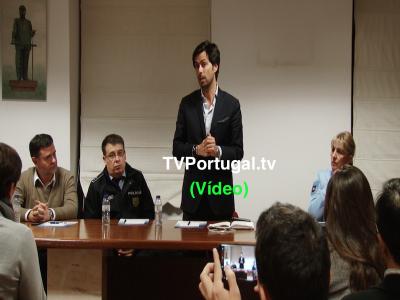 Acção de Sensibilização Comércio Local, Associação Empresarial Concelho de Cascais, Portugal, Armando Correia, Pedro Morais Soares, Televisão