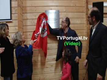 Inauguração do Pavilhão Multiusos, Associação Moradores Quinta da Carreira, Carlos Guimarães, Carlos Carreiras, Cascais, Televisão, Portugal